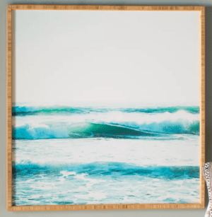 Ride Waves Framed Art