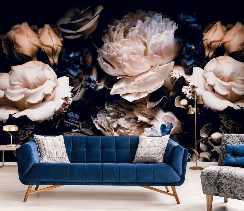 floral-wallpaper-design-trend