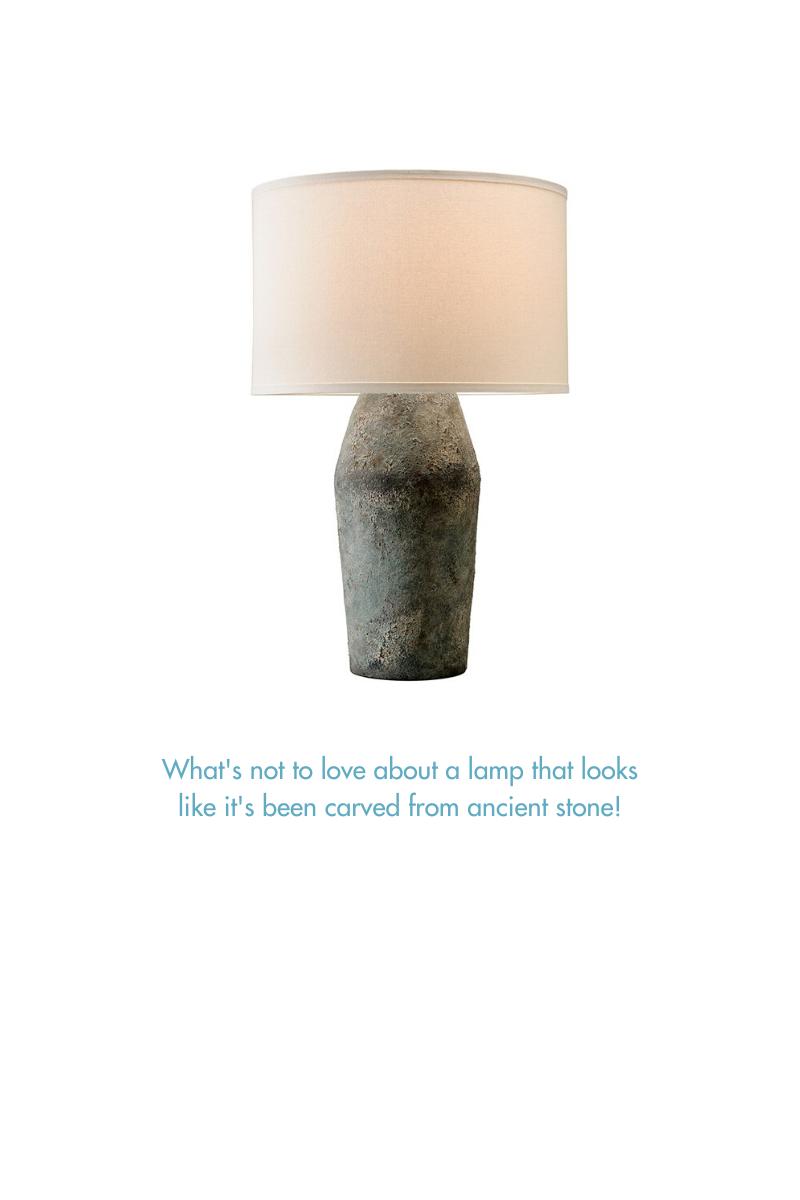Stone Base Lamp