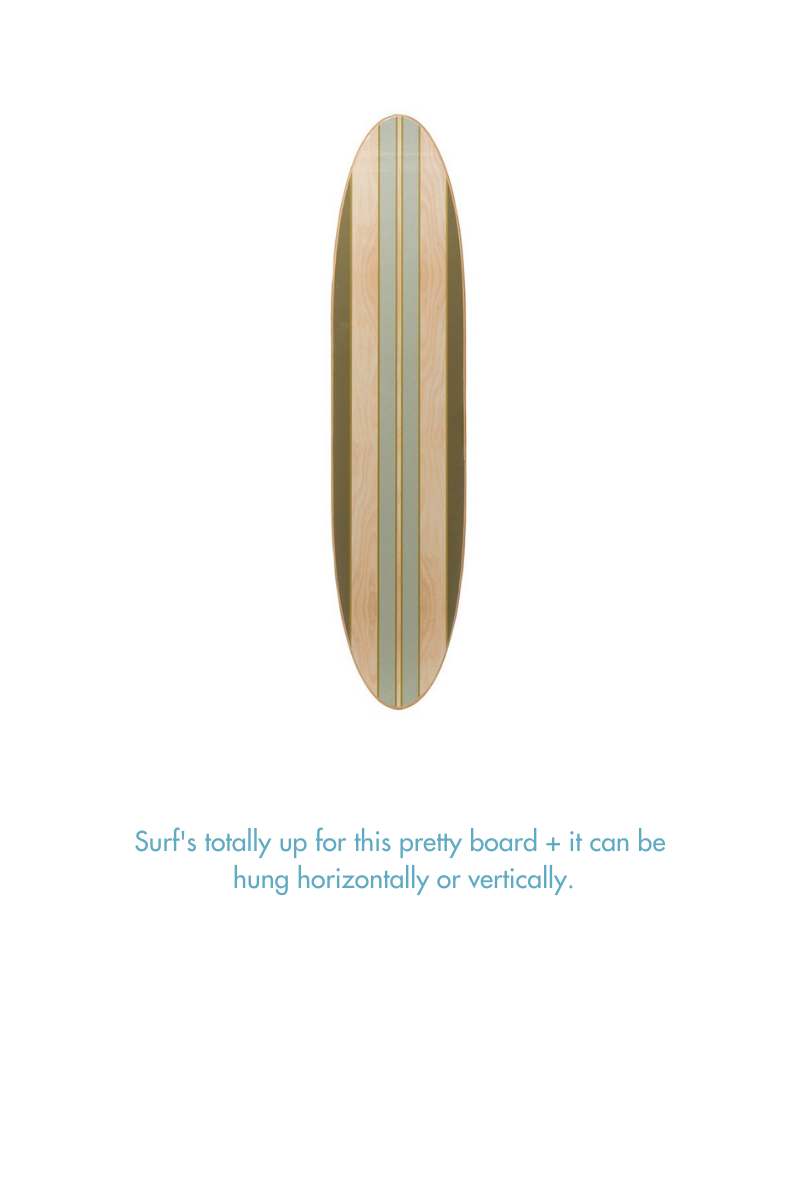 Decorative Surf Board