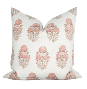 floral pillow cover