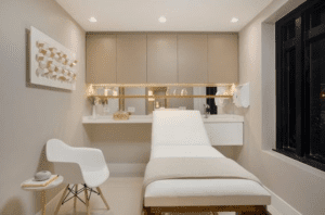 medical spa, interior design